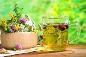 Травяные настои при гастрите