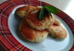 Вкусные сырники из духовки при гастрите