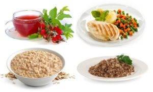 Лечение гастрита диетой