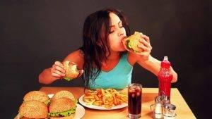 неправильным питанием