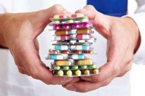 приём антибактериальных препаратов