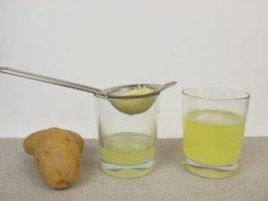 принимать картофельный сок