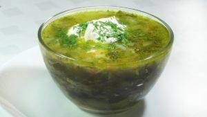 Щавелевый суп при гастрите желудка
