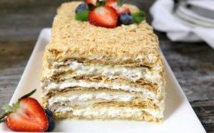 Торт Наполеон описание