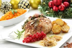 Новогодние блюда при гастрите