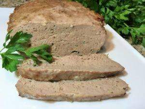 Суфле из отварного мяса свинины