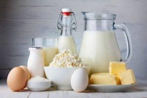 Молочные продукты и яйца при диетическом питании при гастрите