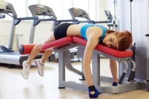 Чрезмерные тренировки в тренажерных залах