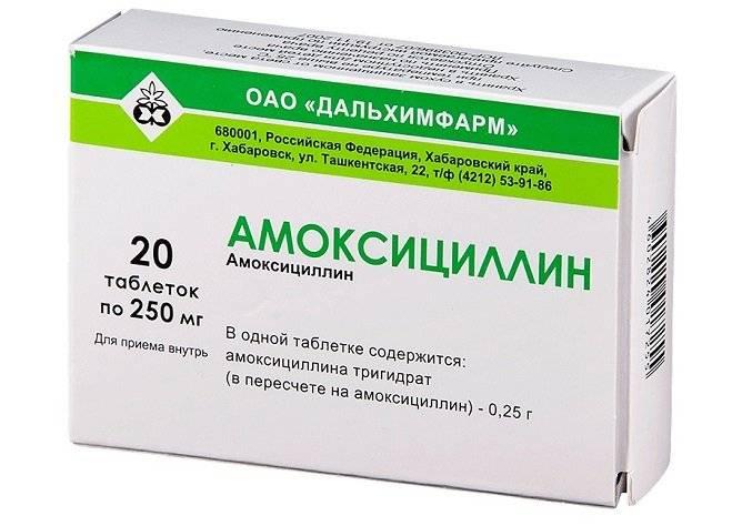 Амоксициллин антибиотики от простатита лечение простатита конский каштан