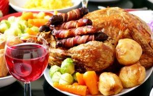 обильная жирная пища