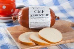 Плавленый и колбасный сыр