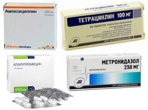 Зачем нужны антибиотики при гастрите