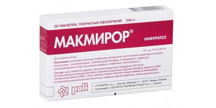 Описание препарата Макмирор