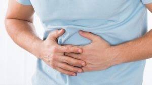 Боль в области желудка