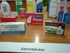 Антацидные лекарства