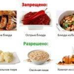Что едят при остром гастрите