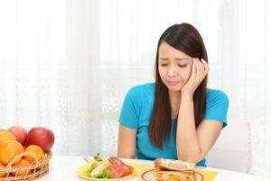 Чувство голода в желудке