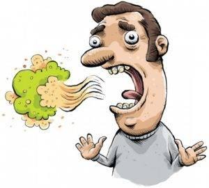 Гнилостный запах изо рта