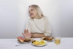 Отвращение к жирной пище