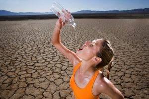 Сильная жажда и сухость во рту