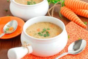 Слизистые супы при гастрите рецепты