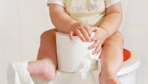 Жидковатый стул у ребенка