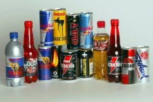 алкогольные и газированные напитки