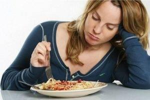 нет аппетита у женщины причины