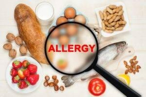 Аллергическая реакция на продукты