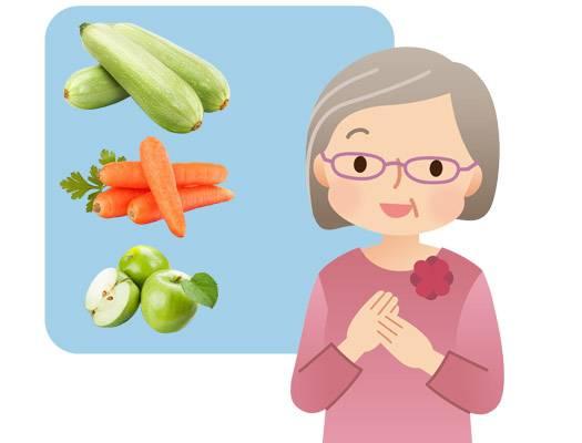 Овощи и фрукты от запора действие
