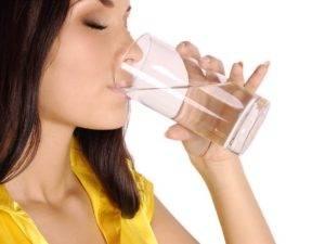 Перед фиброгастроскопией можно пить воду