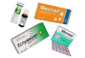 Препараты против метеоризма