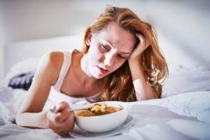 Утром не лезет еда