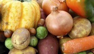 овощи с крахмалом