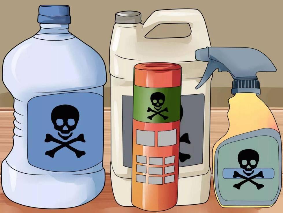 Токсичные вещества могут вызвать рвоту