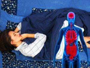 Несколько исследований показали, что сон на левом боку помогает облегчить кислотный рефлюкс