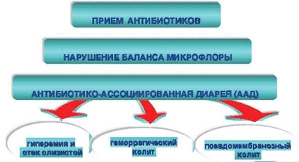 Антибиотик ассоциированная диарея