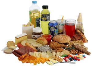 Соленые продукты и напитки