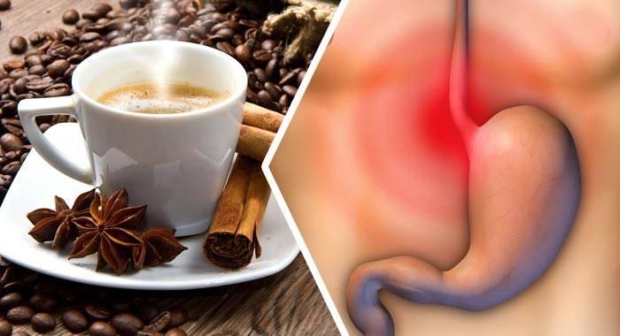 После кофе болит живот причины