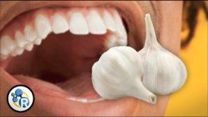 Запах из рта после чеснока