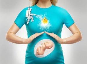Изжога при беременности причины