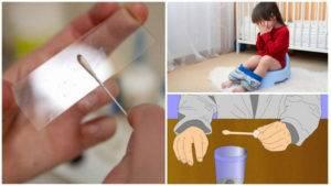 Как взять анализ на энтеробиз у ребенка