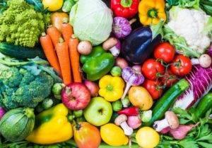 Ешьте много овощей: