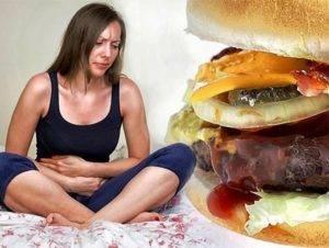 Другой возможной причиной расстройства желудка являетсянездоровый образ жизни