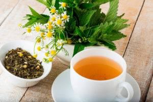 Ромашковый чай для желудка