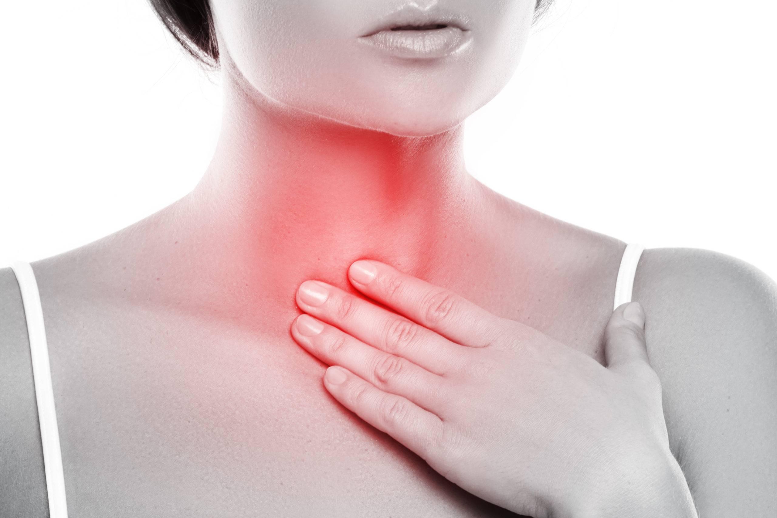 Кислотный рефлюкс и боль в горле